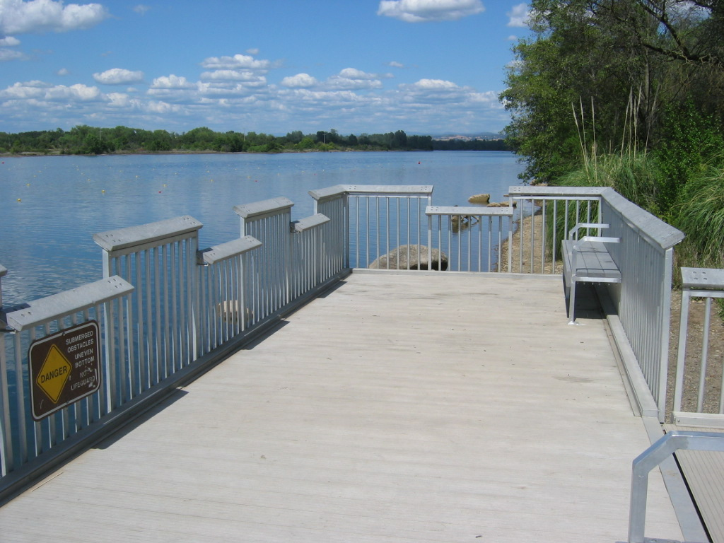 Accessibility details for Lake natoma fishing