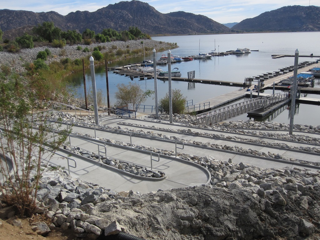 Accessibility details for Lake perris fishing report