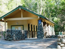 The Madrone Group Camp has accessible restrooms.